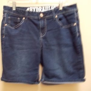 Hydraulic Jeans Shorts Womens
